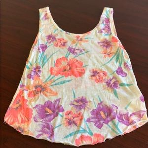 Roxy Floral Tank Top